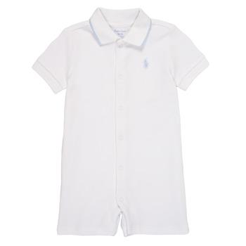 Oblačila Dečki Kombinezoni Polo Ralph Lauren TONNY Bela