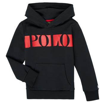 Oblačila Dečki Puloverji Polo Ralph Lauren VOULLI Črna