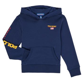 Oblačila Dečki Puloverji Polo Ralph Lauren AMELIA Modra