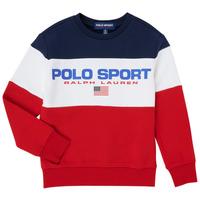 Oblačila Dečki Puloverji Polo Ralph Lauren TRINITA Večbarvna