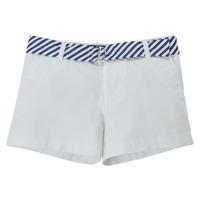 Oblačila Deklice Kratke hlače & Bermuda Polo Ralph Lauren FILLI Bela