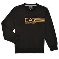 Oblačila Dečki Puloverji Emporio Armani EA7 3KBM55-BJ05Z-1200 Črna