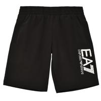 Oblačila Dečki Kratke hlače & Bermuda Emporio Armani EA7 3KBS52-BJ05Z-1200 Črna