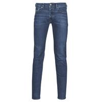 Oblačila Moški Jeans skinny Diesel SLEENKER Modra
