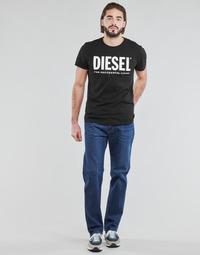 Oblačila Moški Jeans straight Diesel D-MITHRY Modra
