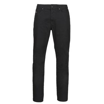 Oblačila Moški Jeans straight Diesel D-FINNING Črna