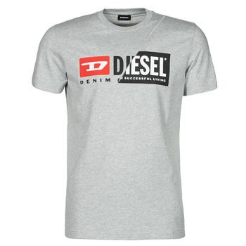 Oblačila Moški Majice s kratkimi rokavi Diesel 00SDP1-0091A-912 Siva