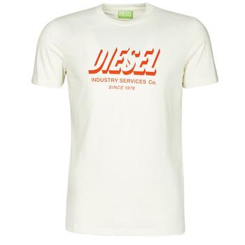Oblačila Moški Majice s kratkimi rokavi Diesel A01849-0GRAM-129 Bela