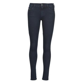 Oblačila Ženske Jeans skinny Diesel SLANDY Modra