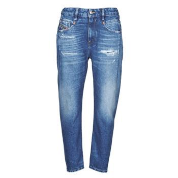 Oblačila Ženske Jeans boyfriend Diesel D-FAYZA Modra