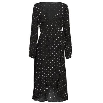 Oblačila Ženske Dolge obleke Guess NEW BAJA DRESS Črna