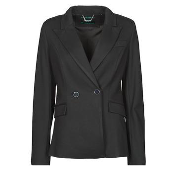 Oblačila Ženske Jakne & Blazerji Guess MICAELA BLAZER Črna