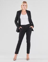 Oblačila Ženske Hlače s 5 žepi Guess ZOE PANTS Črna