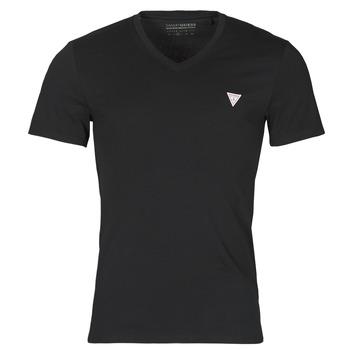 Oblačila Moški Majice s kratkimi rokavi Guess VN SS CORE TEE Črna