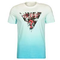 Oblačila Moški Majice s kratkimi rokavi Guess PALM BEACH CN SS TEE Modra