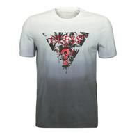Oblačila Moški Majice s kratkimi rokavi Guess PALM BEACH CN SS TEE Črna