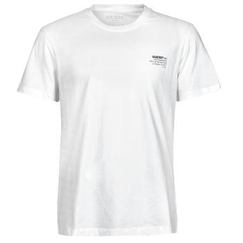 Oblačila Moški Majice s kratkimi rokavi Guess ORGANIC BASIC CN SS TEE Bela