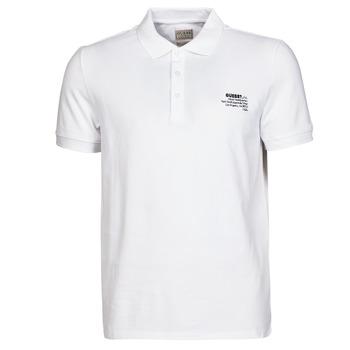 Oblačila Moški Polo majice kratki rokavi Guess OZ SS POLO Bela