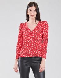 Oblačila Ženske Topi & Bluze Naf Naf COLINE C1 Rdeča