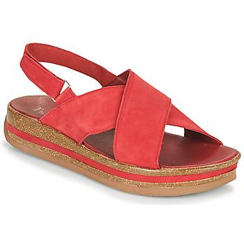 Čevlji  Ženske Sandali & Odprti čevlji Think ZEGA Rdeča