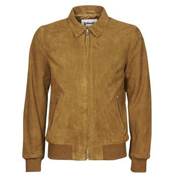 Oblačila Moški Usnjene jakne & Sintetične jakne Schott LC YALES S Cognac