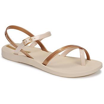 Čevlji  Ženske Sandali & Odprti čevlji Ipanema Ipanema Fashion Sandal VIII Fem Bež / Pozlačena