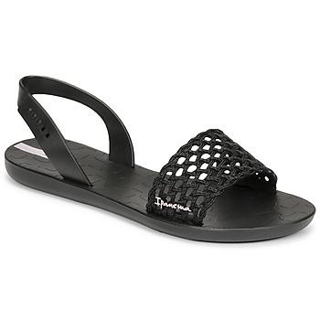 Čevlji  Ženske Sandali & Odprti čevlji Ipanema IPANEMA BREEZY SANDAL FEM Črna