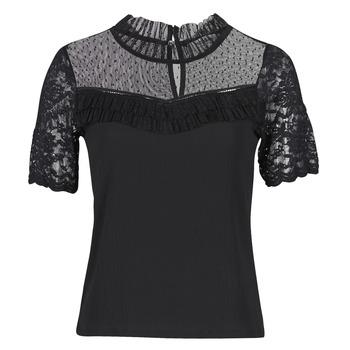 Oblačila Ženske Majice s kratkimi rokavi Morgan DANY Črna