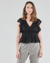 Oblačila Ženske Topi & Bluze Morgan DARLEY Črna