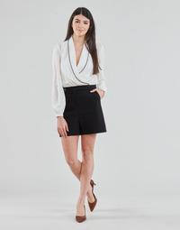 Oblačila Ženske Kombinezoni Morgan SHAMIE Črna / Bela