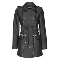 Oblačila Ženske Trenči Morgan GAZELLE Črna