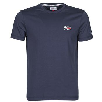 Oblačila Moški Majice s kratkimi rokavi Tommy Jeans TJM CHEST LOGO TEE Modra
