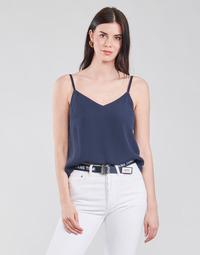 Oblačila Ženske Topi & Bluze Tommy Jeans TJW CAMI TOP Modra
