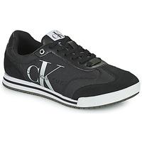 Čevlji  Moški Nizke superge Calvin Klein Jeans LOW PROFILE SNEAKER LACEUP PES Črna