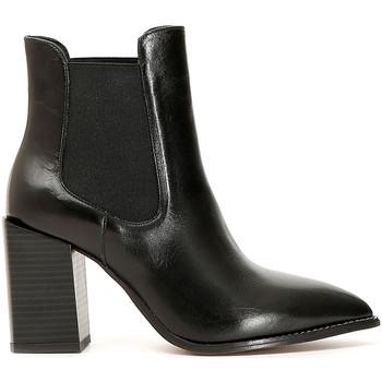 Čevlji  Ženske Gležnjarji Café Noir LB223 Črna