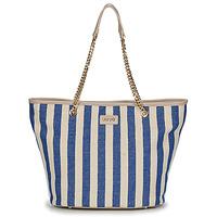 Torbice Ženske Nakupovalne torbe Liu Jo SICURA XL TOTE Bež / Modra
