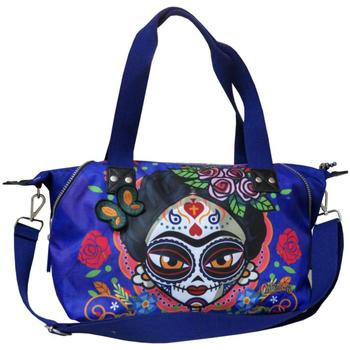 Torbice Ženske Ročne torbice Catrinas BM-01-CT Azul