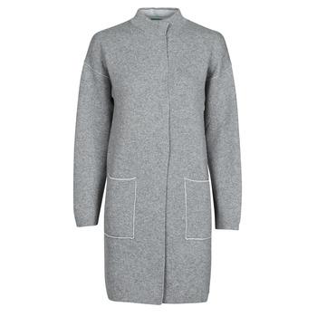 Oblačila Ženske Plašči Benetton 1132E9071-507 Siva
