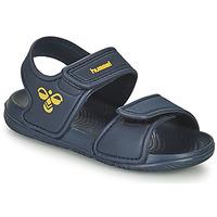 Čevlji  Otroci Športni sandali Hummel PLAYA JR Modra