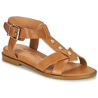 Čevlji  Ženske Sandali & Odprti čevlji Karston SOCAS Kamel