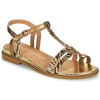 Čevlji  Ženske Sandali & Odprti čevlji Karston SOREN Pozlačena