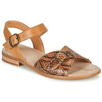 Čevlji  Ženske Sandali & Odprti čevlji Karston XABERO Kamel / Piton