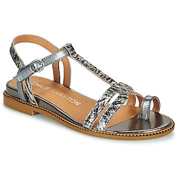 Čevlji  Ženske Sandali & Odprti čevlji Karston SOREN Srebrna