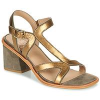 Čevlji  Ženske Sandali & Odprti čevlji Karston PSOK Kaki / Bronze