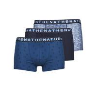 Spodnje perilo Moški Boksarice Athena EASY STYLE X3 Modra / Modra