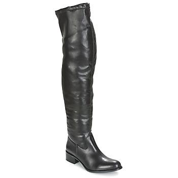 Čevlji  Ženske Visoki škornji Betty London GLAMOU Črna