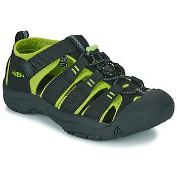 Čevlji  Dečki Športni sandali Keen NEWPORT H2 Črna / Zelena