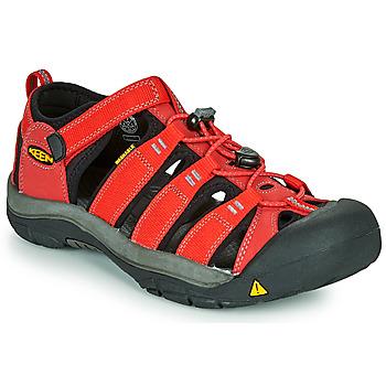 Čevlji  Otroci Športni sandali Keen NEWPORT H2 Rdeča