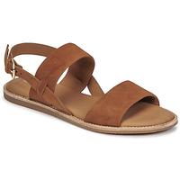 Čevlji  Ženske Sandali & Odprti čevlji Clarks KARSEA STRAP Kamel