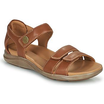 Čevlji  Ženske Sandali & Odprti čevlji Clarks KYLYN STRAP Bež